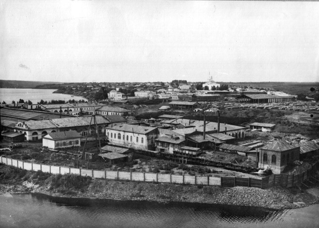 Левобережные цеха старого Режевского завода