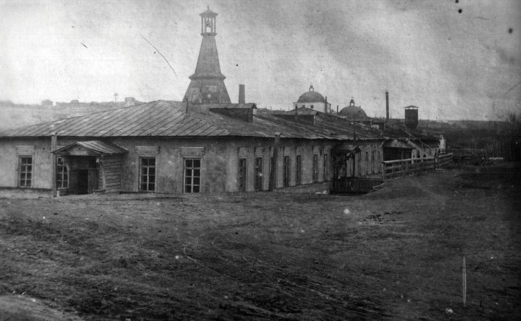 Здание первой заводской конторы старого Режевского чугуноплавильного и железоделательного завода