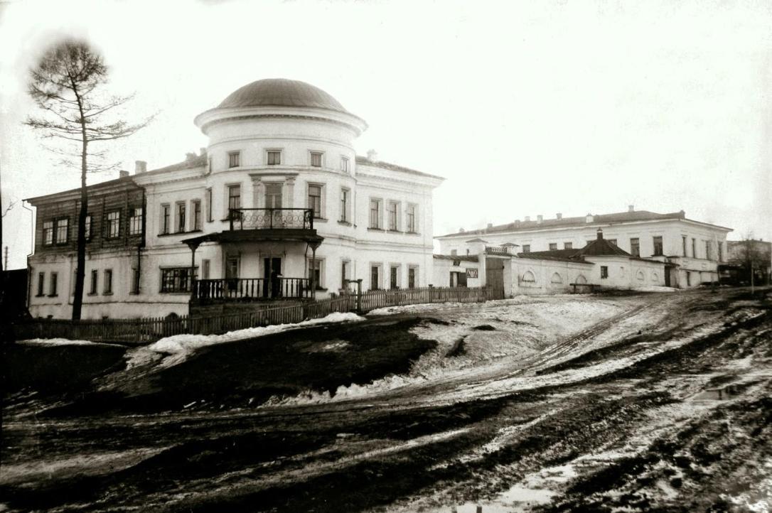 Господский дом в 1930-е годы