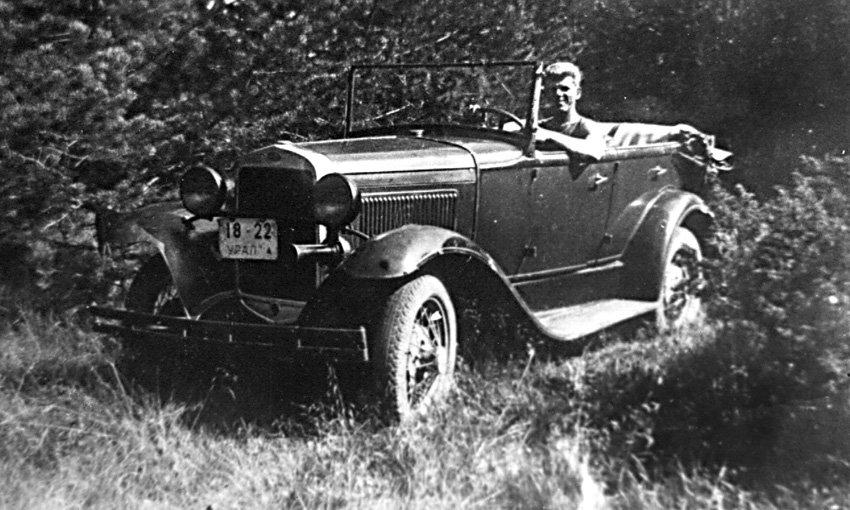 Первый в Реже легковой автомобиль