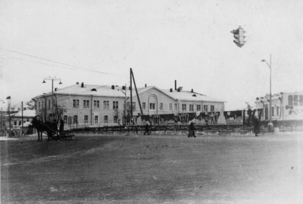 В центре Режа в 1960-е годы
