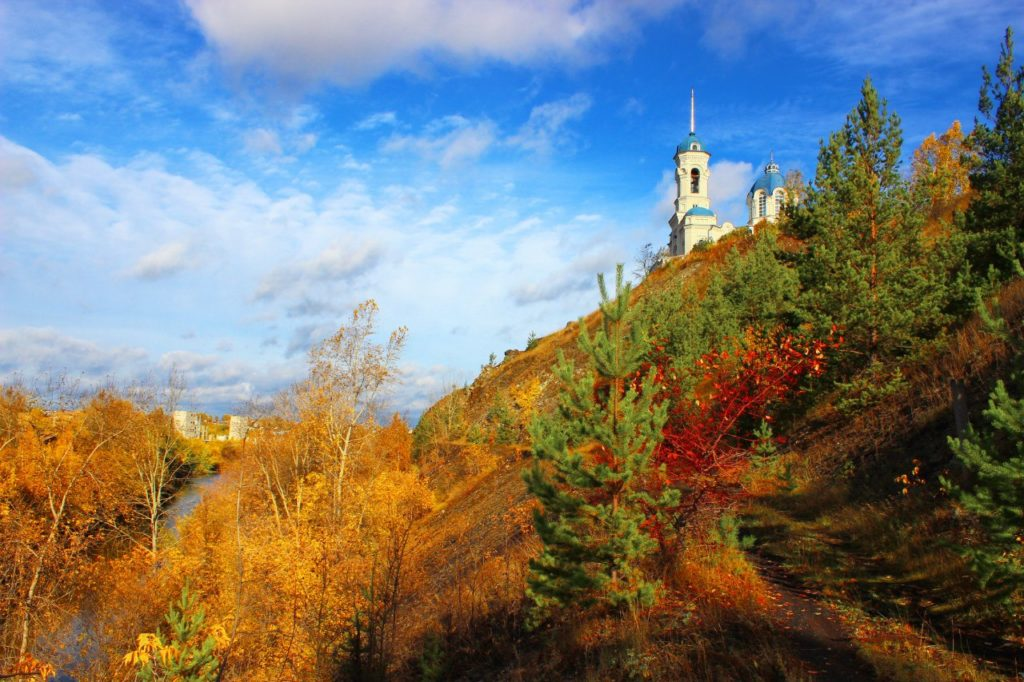 Иоанно-Предтеченская церковь в Реже