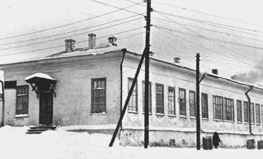 Реж, улица Пушкина, старая земская больница, в первые десятилетия советской власти поликлиника