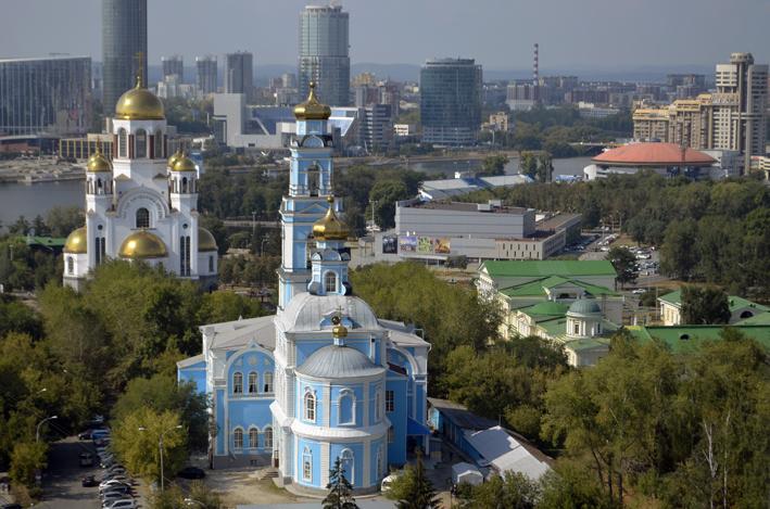 Вщзнесенский храм в Екатеринбурге
