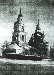 Храм во имя Николая Чудотворца в селе Глинском
