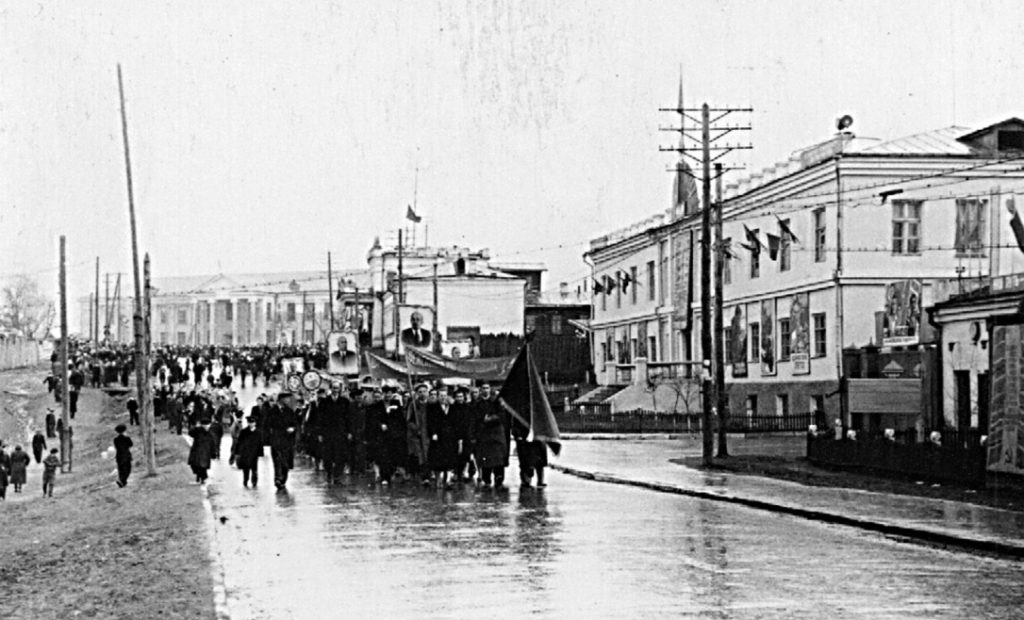Улица Советская в 1960-е годы