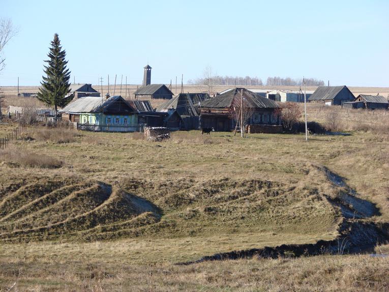 Жуковский пейзаж с пожарной