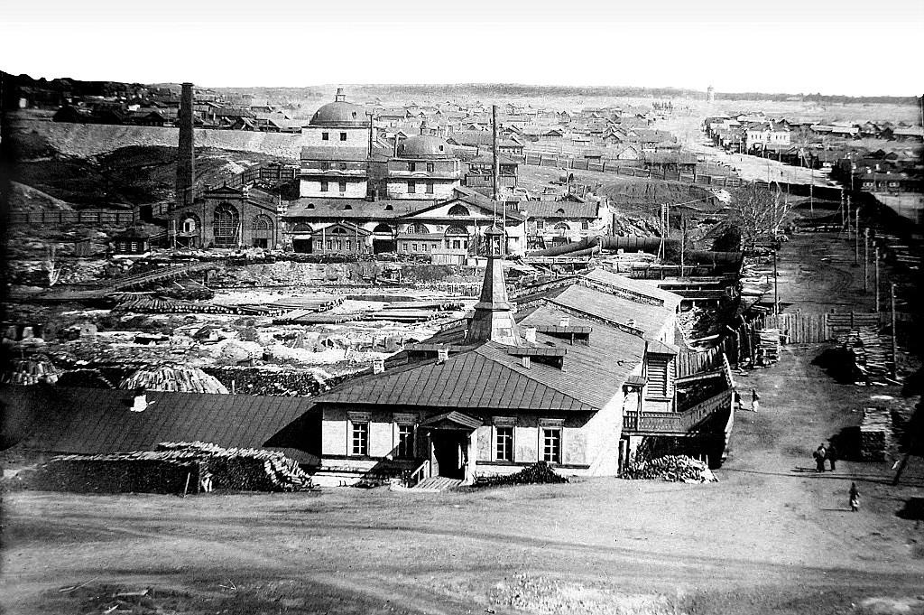 Режевской механический завод в начале своей истории