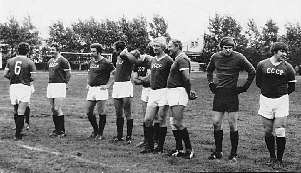 Звезды советского футбола на режевском стадионе «Металлург»