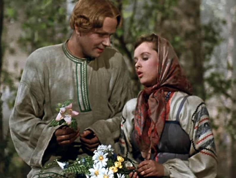 Кадр из фильма «Каменный цветок» (1946 год)
