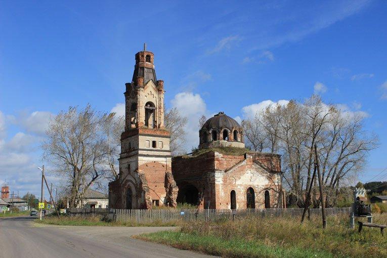 Фроло-Лаврская церковь в Клевакино
