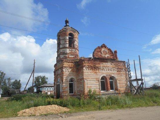 Часовня в деревне Ключи