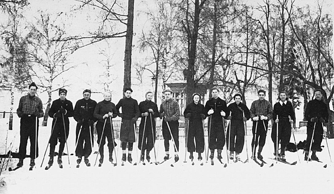 Лыжники Режевской Первой школы