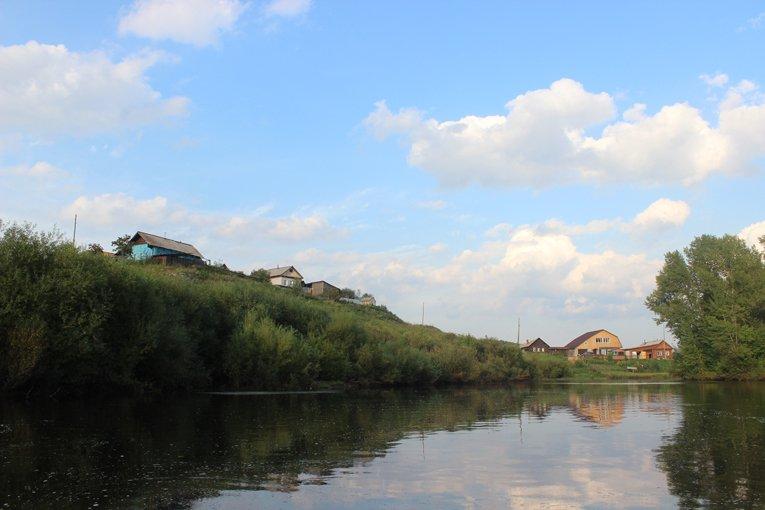 Кочнево с реки Реж