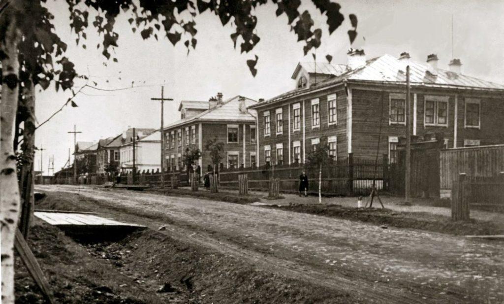 Улица Ленина в 1958 году