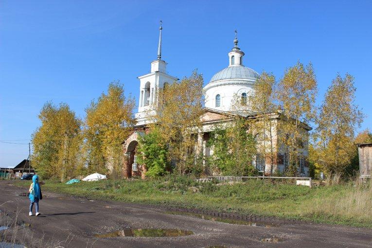 Христорождественская церковь в Липовском