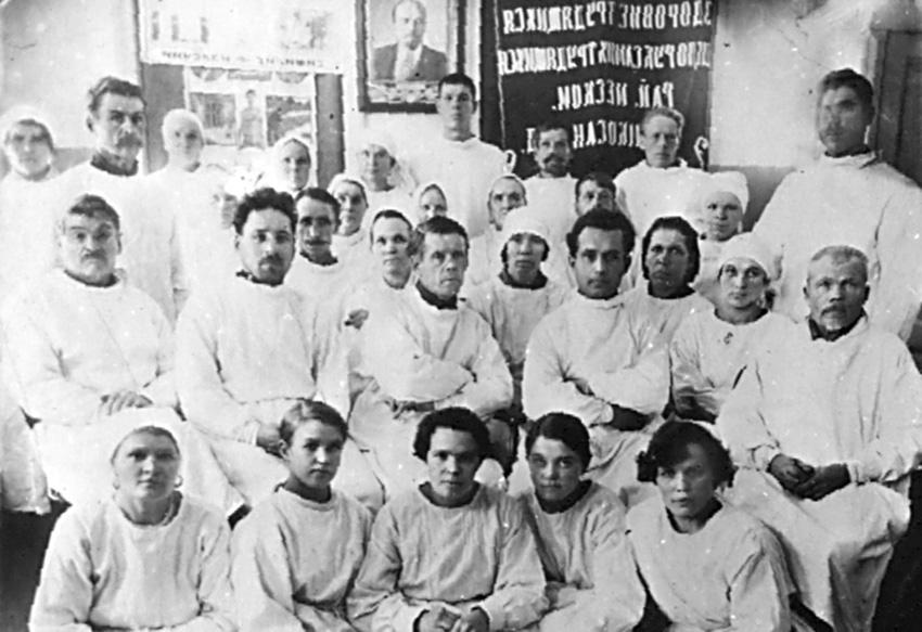 Режевские медики в предвоенный период