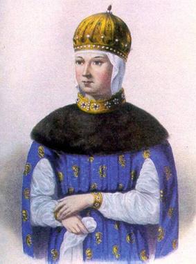 Царица (с 1648 по 1669 год) Мария Милославская