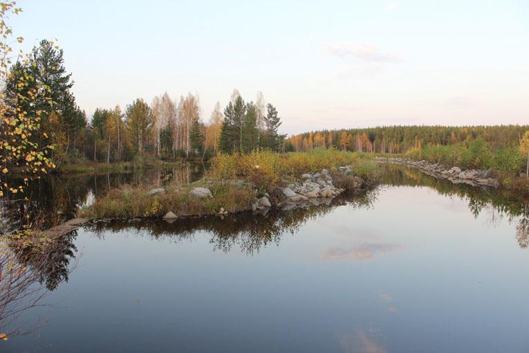 На Верхнем пруду в Озерном