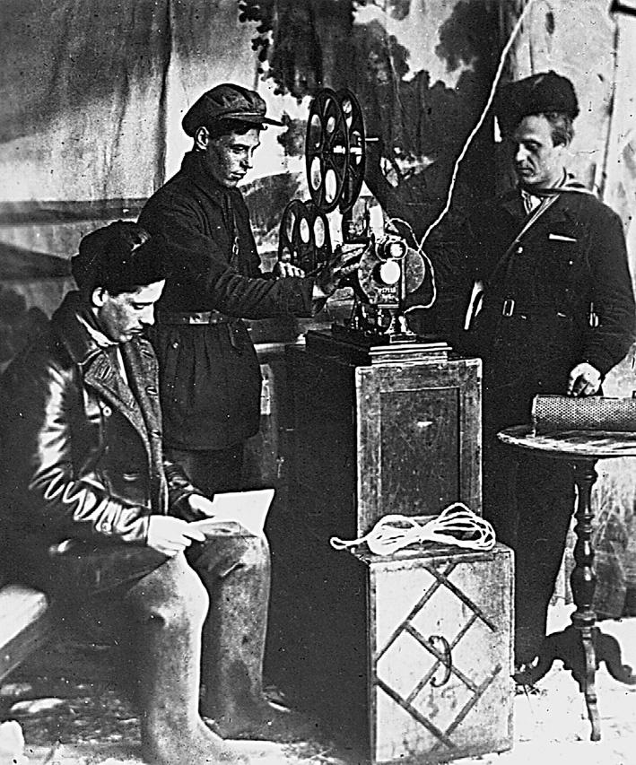 Режевские киномеханики в 1930-е годы