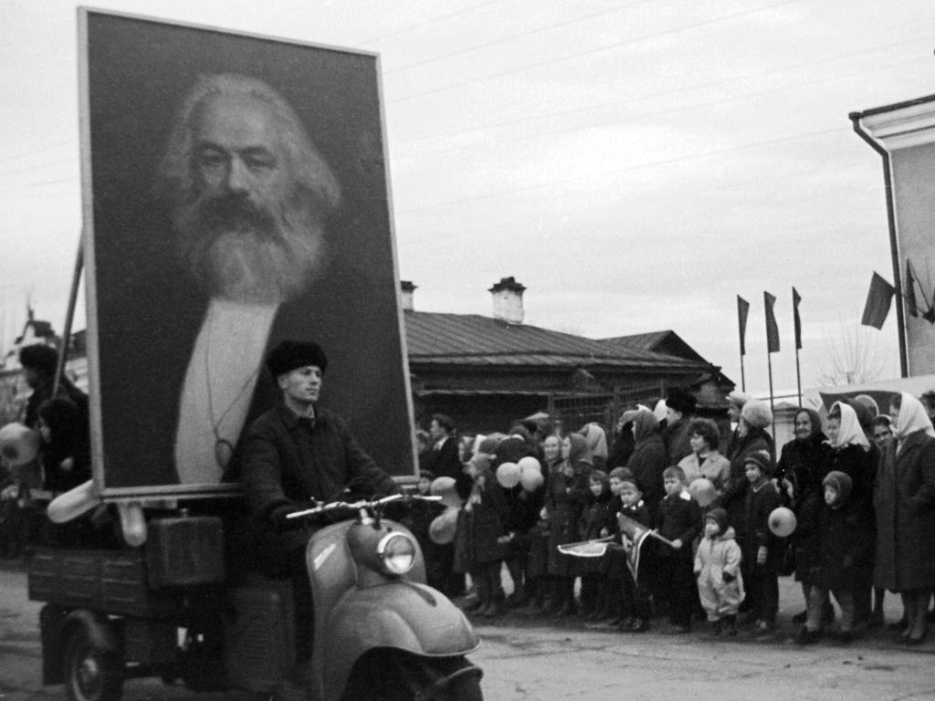 Во время демонстрации в Реже