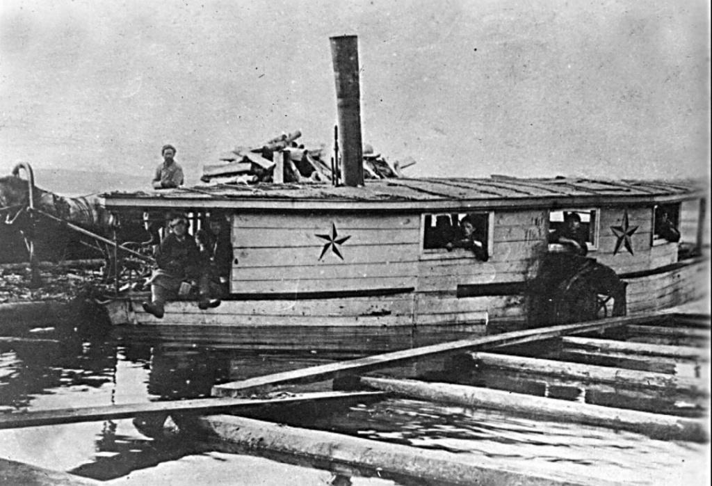 Режевской пароход