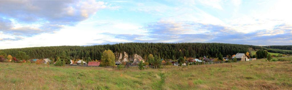Деревня Чепчугово и Чепчуговский камень