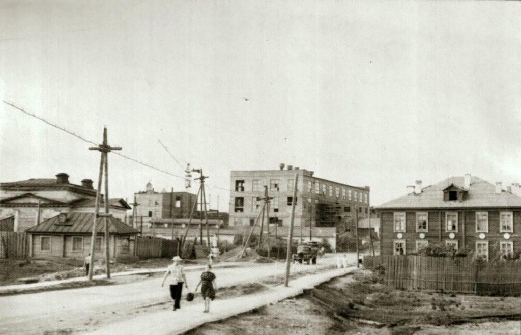 Режский никельзавод в 1960