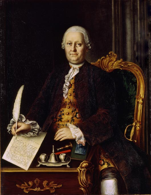 Портрет Саввы Яковлева 1767 года, за 6 лет до образования Режевского завода