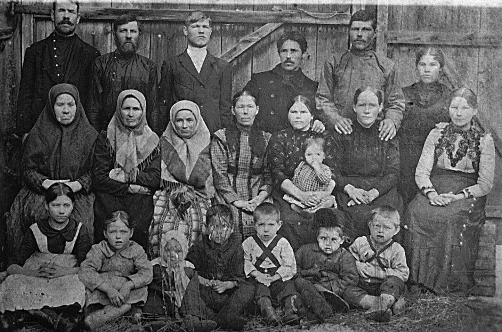 Режевская семья со средним достатком в начале XX столетия
