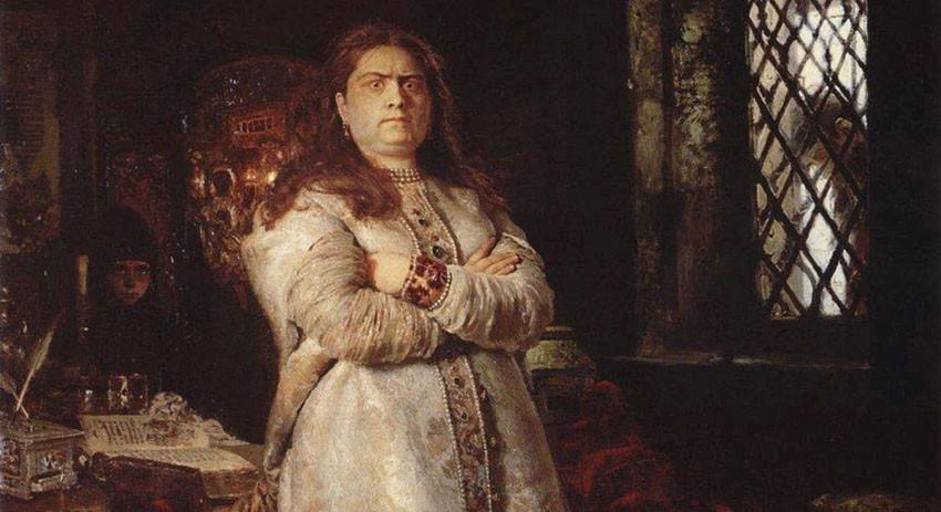 Царевна Софья, правнучка Данилы Милославского