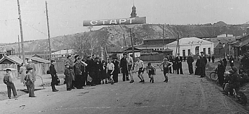 Эстафета к Дню Победы в 1950-е годы
