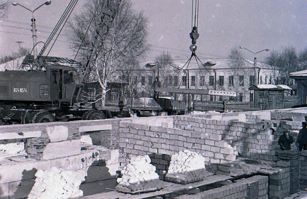 Середина 1970-х: строительство новой почты