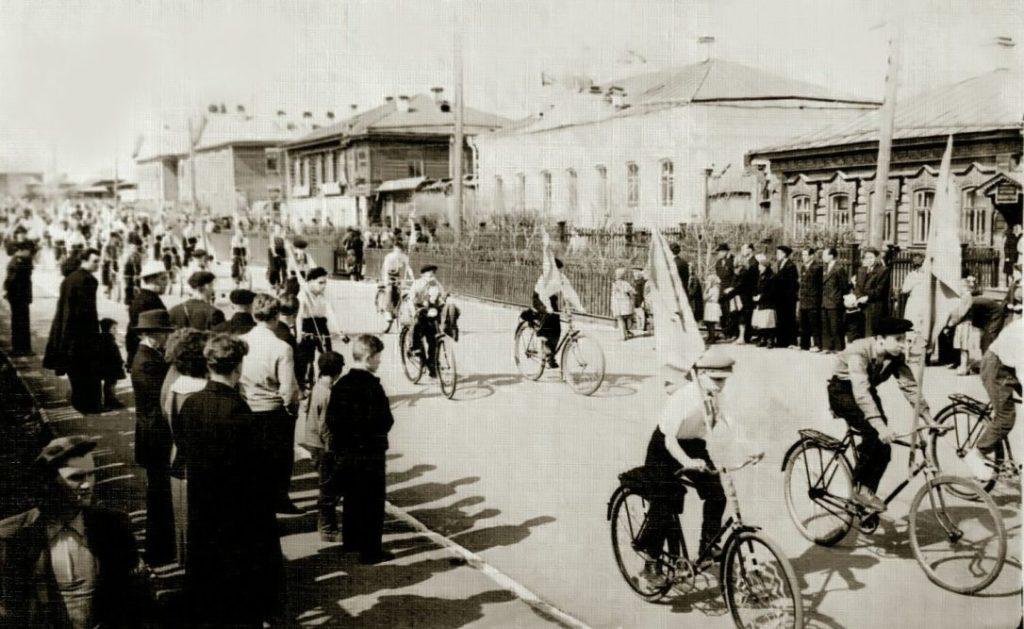 Улица Красноармейская в 1960-е годы