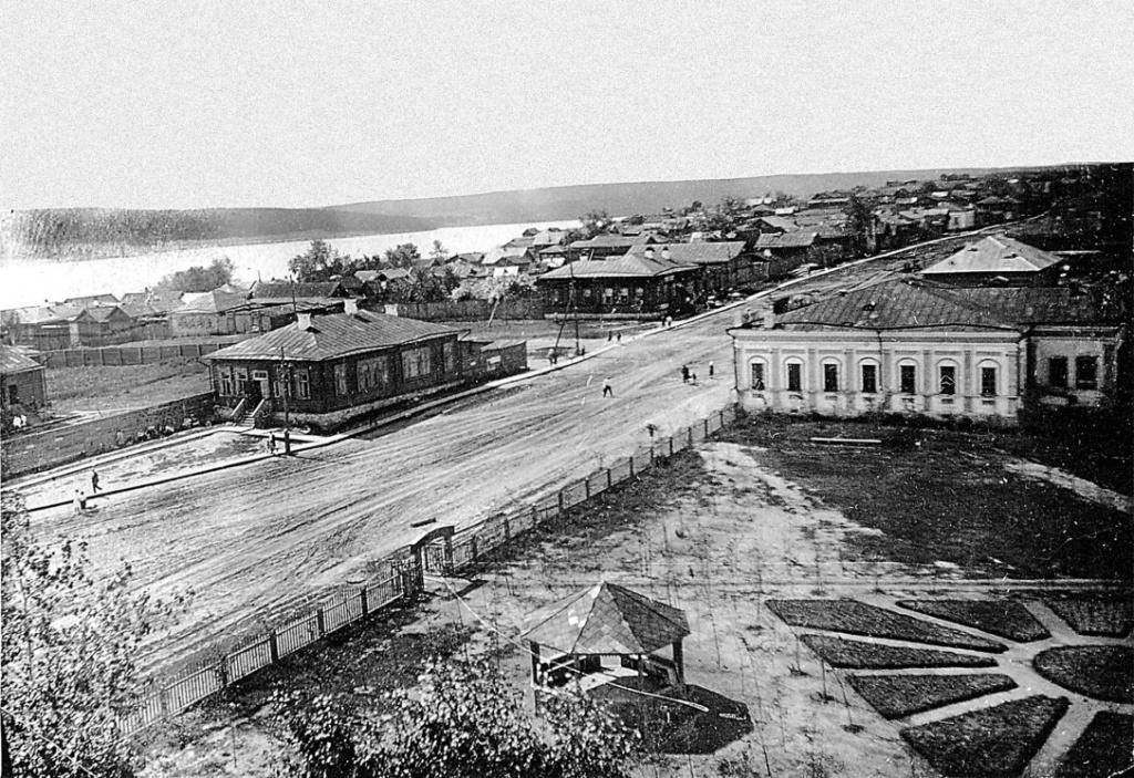 Улица Ленина в середине XX века