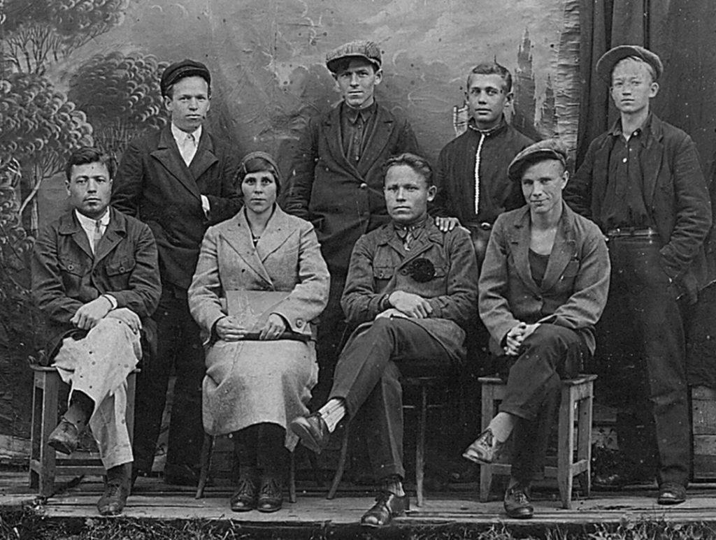 Одна из фоторабот А. И. Матвеева в 1920-е годы