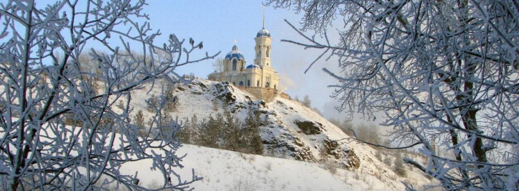 Иоанно-Предтеченский храм красив в любое время года