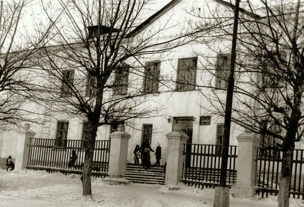 Режевская школа № 3 в 1970-е годы