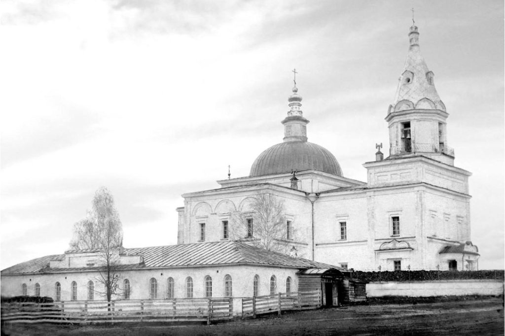 Богоявленский храм и церковно-приходская школа
