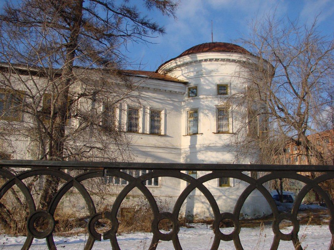 Господский дом в начале 2000-х