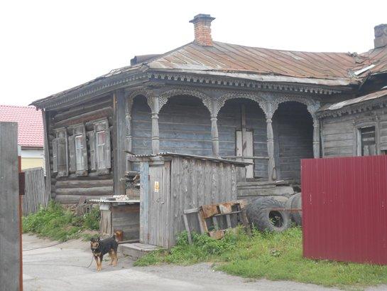 Дом священника Чернавина в селе Липовском