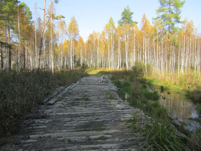 Переправа через Парфеновку