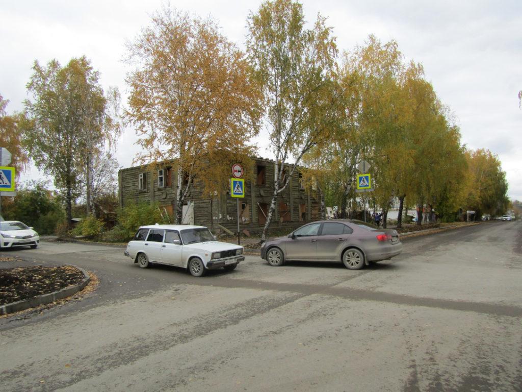 Улица Ленина в 2017 году