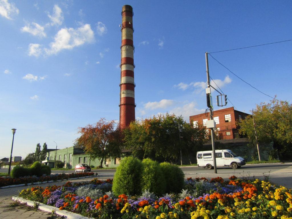 Труба Режского никелевого завода (РНЗ)