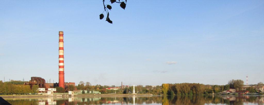 Вид на Режевской пруд