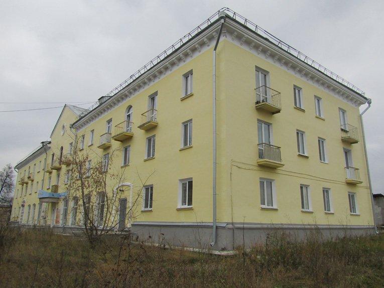 Первое в Реже 3этажное здание