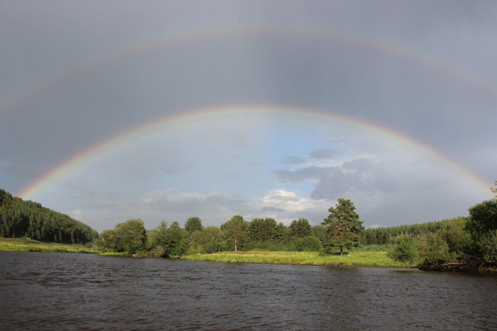 Река Реж у села Глинского