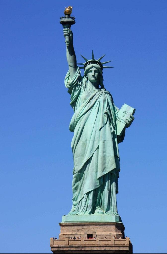 символ Америки — Статуя свободы