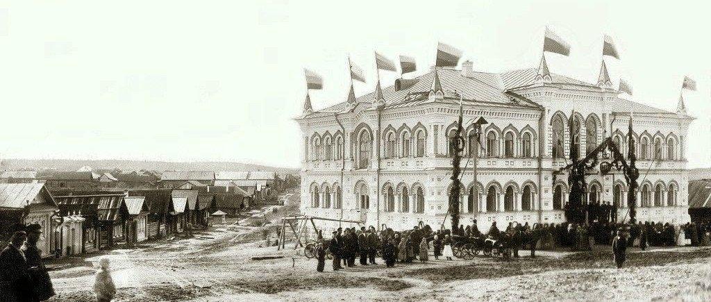 Открытие Первой школы