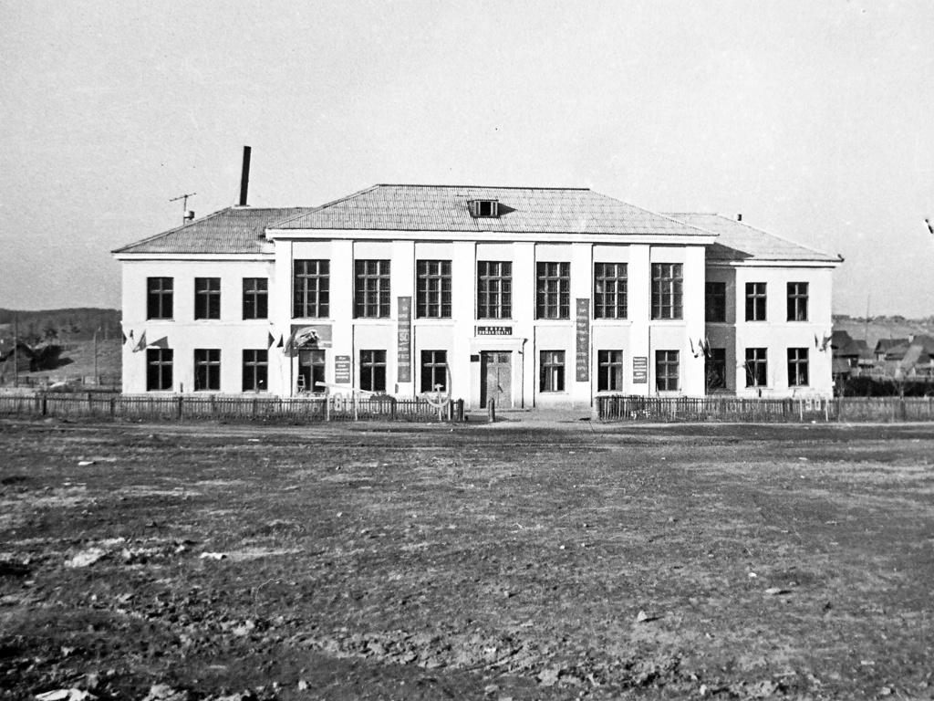 Новая школа № 7 в 1960-е годы